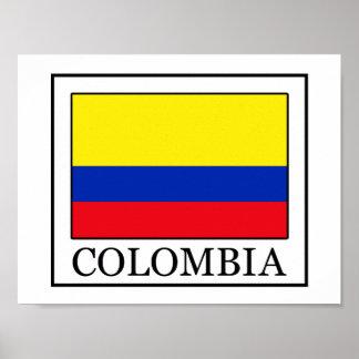 Poster La Colombie