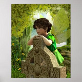 Poster La copie féerique celtique d'affiche