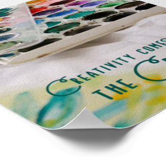 Poster La créativité vient du créateur