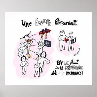 """Poster """"La différence au coeur de la performance"""""""