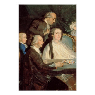 Poster La famille d'Infante Don Luis de Borbon 2