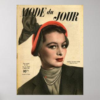 Poster La femme au bibi