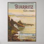 Poster La France Biarritz