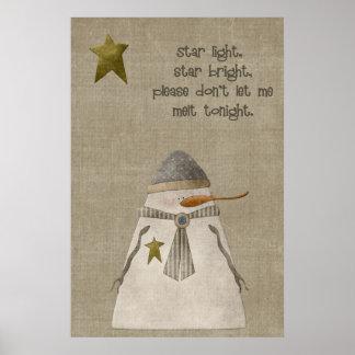 Poster La lumière d'étoile, tiennent le premier rôle le b