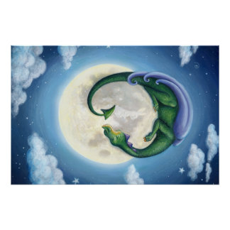 Poster La lune de dragon rêve l'affiche