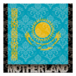 Poster La ma mère patrie Kazakhstan