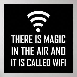 Poster La magie dans le ciel est Wifi