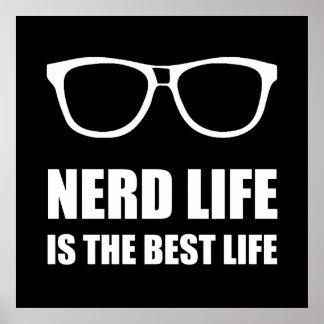 Poster La meilleure vie de la vie nerd