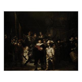 Poster La montre de nuit par Rembrandt Van Rijn