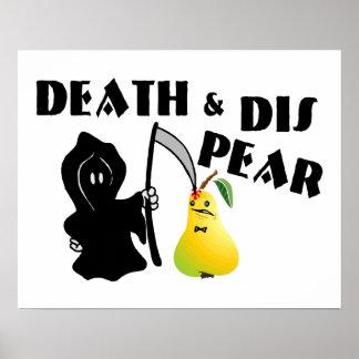 Poster La mort et poire de DIS