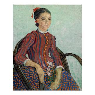Poster La Mousme, 1888 de Vincent van Gogh  