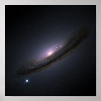 Poster La NASA de galaxie de disque de la supernova 1994D
