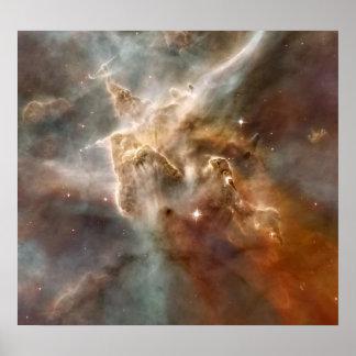 Poster La NASA de la nébuleuse NGC 3372 de Carina
