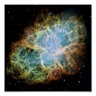 Poster La NASA de supernova de nébuleuse de crabe