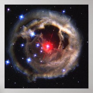 Poster La NASA d'étoile de V838 Monocerotis