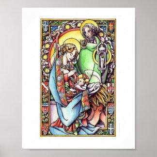 Poster La nativité