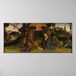 Poster La nativité, 1480s