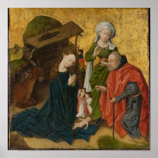 Poster La nativité, circa 1460