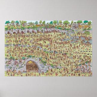 Poster Là où est l'âge de pierre de Waldo |