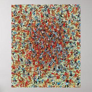 Poster Là où est Waldo   quel combat de chien