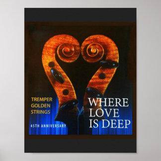 Poster Là où l'amour est profond