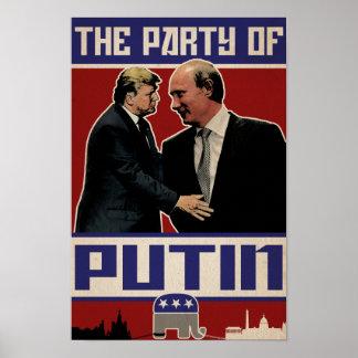 """Poster """"La partie affiche de Poutine"""""""