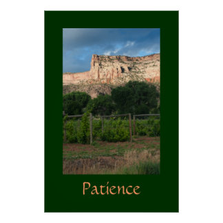 Poster La patience