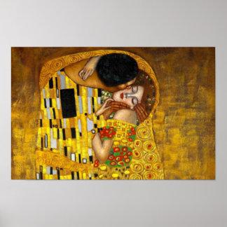Poster La peinture de baiser