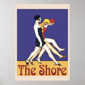 Poster La promenade de rivage