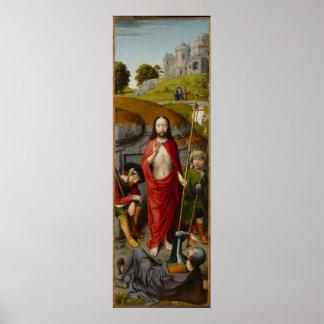 Poster La résurrection, avec les pèlerins d'Emmaus
