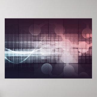 Poster La science et technologie disruptive comme résumé