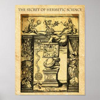 POSTER LA SCIENCE HERMÉTIQUE