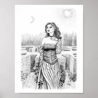 Poster La sorcière de l'amant dans le jardin