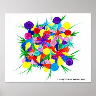 Poster La sucrerie arrose l'artiste d'autisme