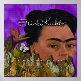 Poster La Vida de Frida Kahlo Pasion Por