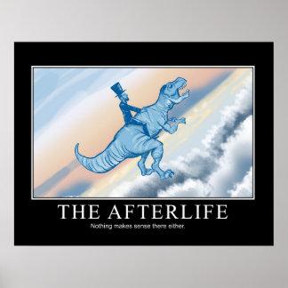 Poster La vie après la mort : Affiche de Demotivational