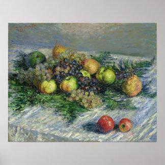 Poster La vie de Claude Monet | toujours avec des poires