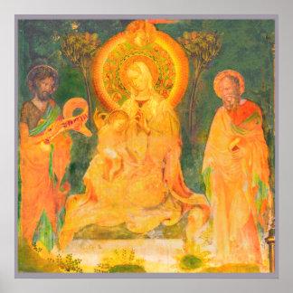 Poster La vie d'Urbino de Jean-Baptist par Salimbeni