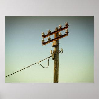 Poster La vieille électricité