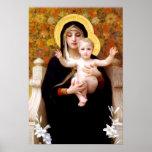 Poster La Vierge des lis (Au Lys de Vierge de La)