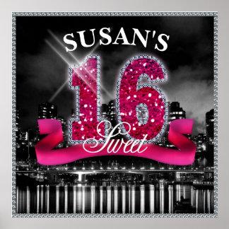 Poster La ville allume le sweet sixteen ID117