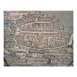 Poster La ville de Jérusalem et des abords