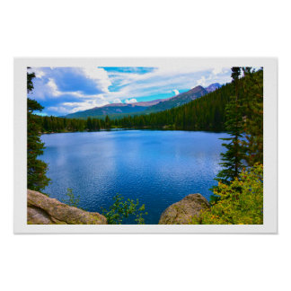 Poster Lac colorado