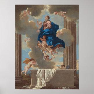 Poster L'acceptation de la Vierge