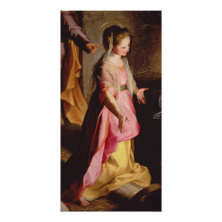 Poster L'adoration de l'enfant, 1597