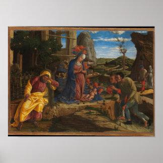 Poster L'adoration des bergers