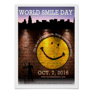 Poster L'affiche 2016 officielle de Day® de sourire du