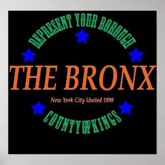 Poster L'affiche de Bronx 20x16