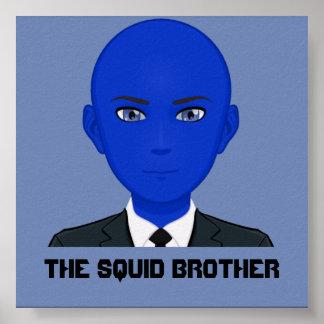 Poster L'affiche de frère de calmar