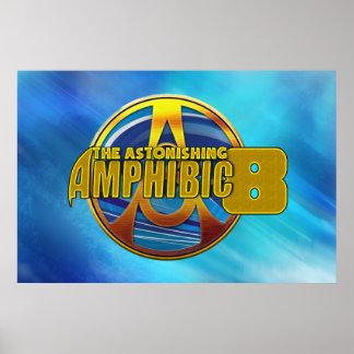 Poster L'affiche étonnante d'édition limitée d'Amphibic 8